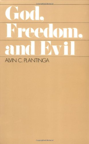 God, Freedom, and Evil  1989 edition cover