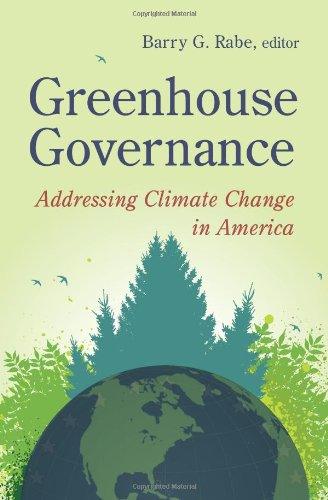 Greenhouse Governance Addressing Climate Change in America  2010 edition cover