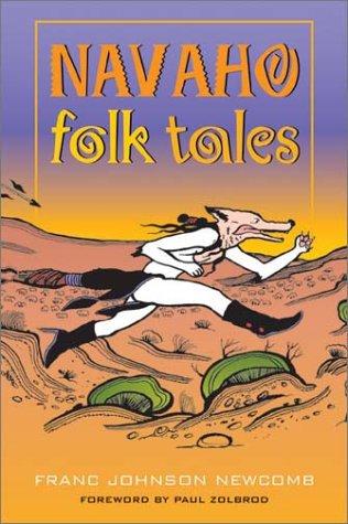 Navaho Folk Tales   1990 (Reprint) edition cover