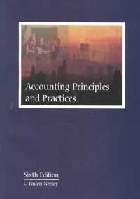 Accounting Principles and Practices 6th 2000 9780873938310 Front Cover