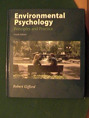 Environmental Psychology Principles and Practice  2007 edition cover