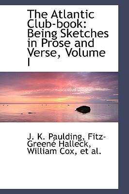 The Atlantic Club-book: Being Sketches in Prose and Verse  2009 edition cover
