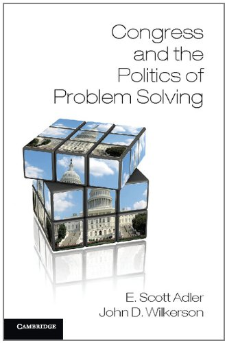 Congress and the Politics of Problem Solving   2012 9781107670310 Front Cover
