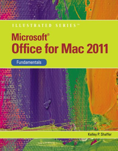 Microsoft� Office for Mac 2011 Fundamentals  2nd 2012 9781111824310 Front Cover