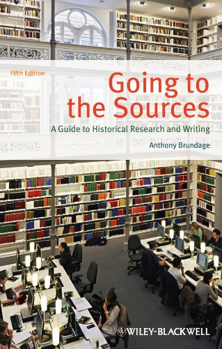 Going to the Sources A Guide to Historical Research and Writing 5th 2013 edition cover