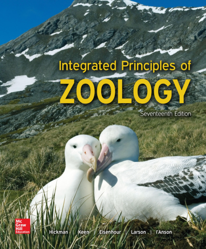 Integrated Principles of Zoology 17th 2016 9781259562310 Front Cover