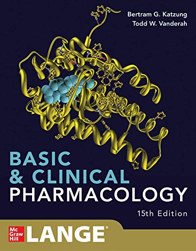 Cover art for Basic and Clinical Pharmacology, 15th Edition