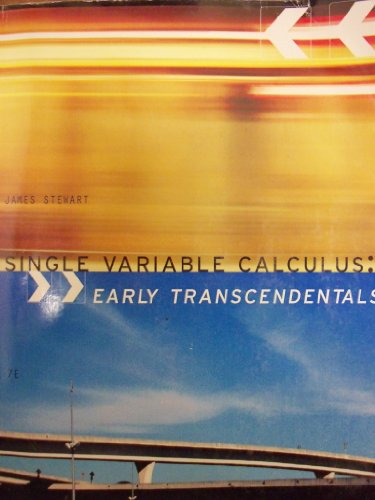 SINGLE VAR.CALC.-EARLY TRANS.> N/A 9781285132310 Front Cover