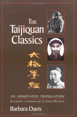 Taijiquan Classics An Annotated Translation  2003 (Annotated) edition cover
