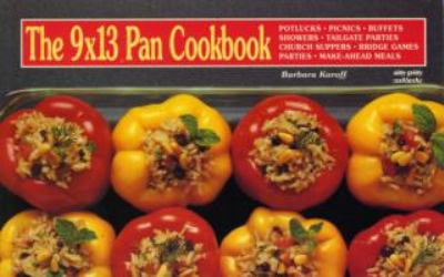 9 X 13 Pan Cookbook  N/A 9781558670310 Front Cover