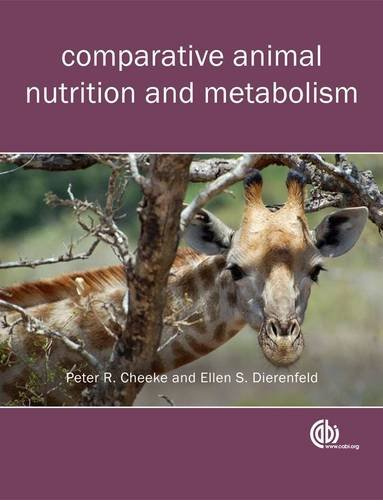Comparative Animal Nutrition and Metabolism   2010 edition cover
