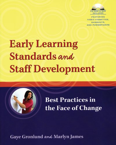 Early Learning Standards and Staff Development Best Practices in the Face of Change  2007 edition cover