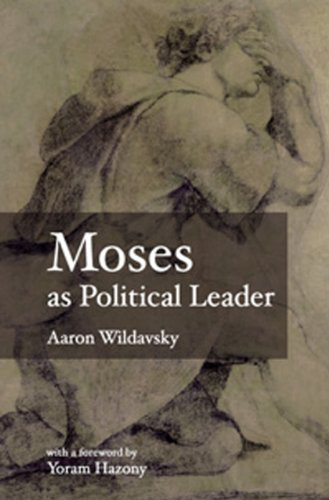 Moses as Political Leader   2005 9789657052310 Front Cover