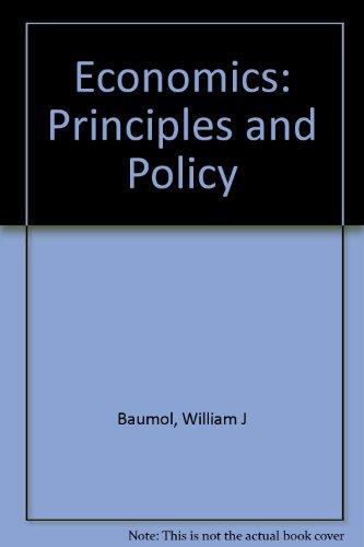 """ECONOMICS:PRIN.+POLICY-W/2-3""""D 7th 1997 edition cover"""