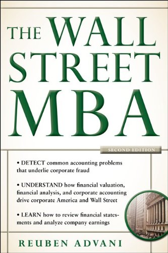 Wall Street MBA  2nd 2012 (Revised) edition cover