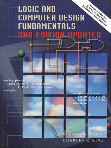 Logic and Computer Design Fundamentals  2nd 2001 edition cover