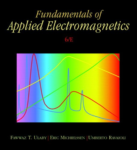 Fundamentals of Applied Electromagnetics  6th 2010 edition cover