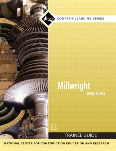 Millwright Level 3  3rd 2008 9780136144311 Front Cover