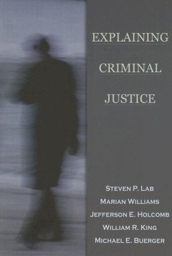Explaining Criminal Justice   2004 edition cover