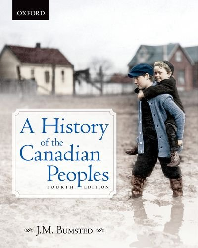 History of the Canadian Peoples  4th 2011 edition cover