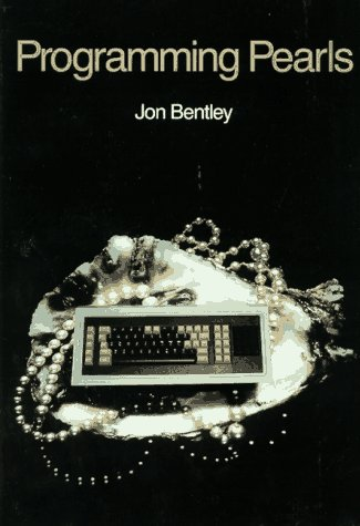 Programming Pearls   1986 edition cover