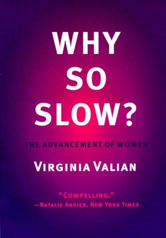 Why So Slow? The Advancement of Women  1999 edition cover