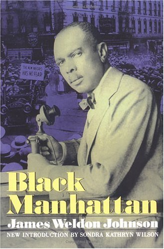 Black Manhattan  Reprint 9780306804311 Front Cover