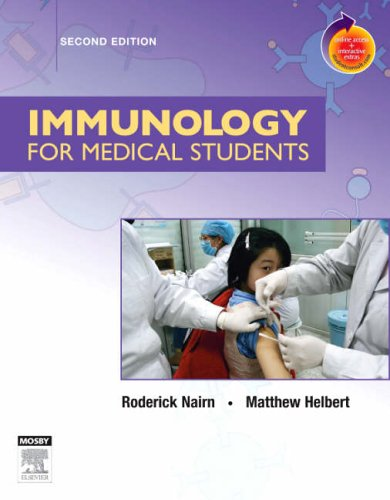 Immunology for Medical Students  2nd 2007 (Revised) edition cover