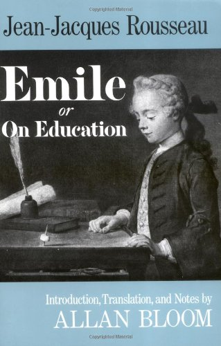 Emile Or on Education N/A edition cover
