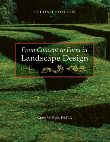 From Concept to Form in Landscape Design  2nd 2007 (Revised) edition cover
