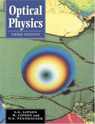 Optical Physics  3rd 1995 (Revised) edition cover
