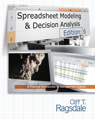 Spreadsheet Modeling and Decision Analysis A Practical Introduction to Management Science 6th 2011 edition cover