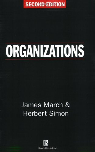 Organizations  2nd 1993 edition cover