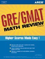 GRE/GMAT Math Review The Preparation You Need to Score High 6th 2005 edition cover