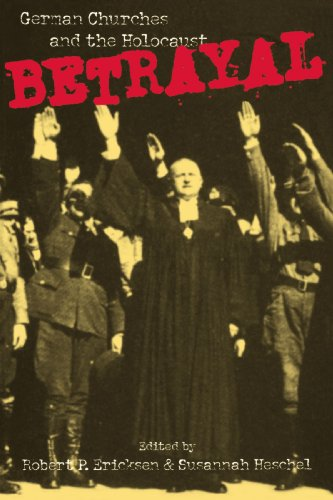 Betrayal German Churches and the Holocaust  1995 edition cover
