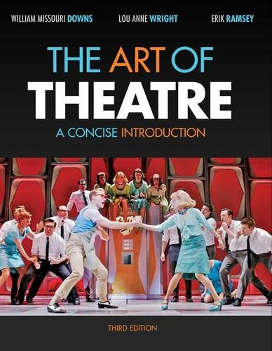Art of Theatre A Concise Introduction 3rd 2013 edition cover