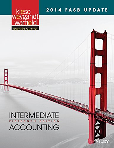 2014 FASB Update Intermediate Accounting 15E  15th 2014 9781118985311 Front Cover