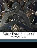 Early English Prose Romances N/A edition cover