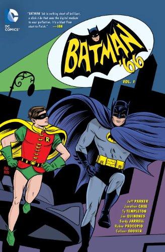 Batman 66 Vol 1   2014 9781401249311 Front Cover