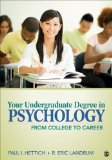 Your Undergraduate Degree in Psychology From College to Career  2014 edition cover