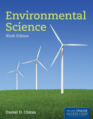 Environmental Science  9th 2013 edition cover