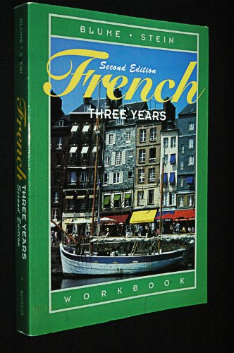 French Three Years  2006 edition cover