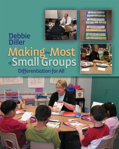 Making the Most of Small Groups Differentiation for All  2007 edition cover