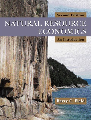 Natural Resource Economics An Introduction 2nd 2008 edition cover