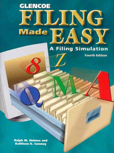 Filing Made Easy A Filing Simulation 4th 2001 edition cover