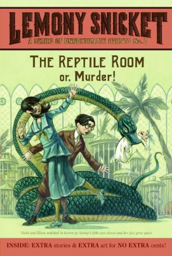 Reptile Room Or, Murder! N/A edition cover