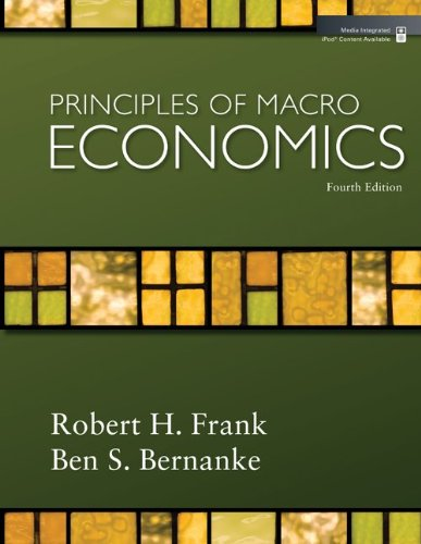Principles of Macroeconomics + Economy 2009 Updates  4th 2009 9780077354312 Front Cover