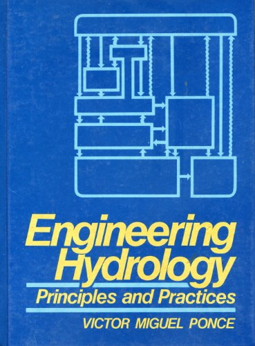 Engineering Hydrology : Principles and Practices  1989 9780132778312 Front Cover