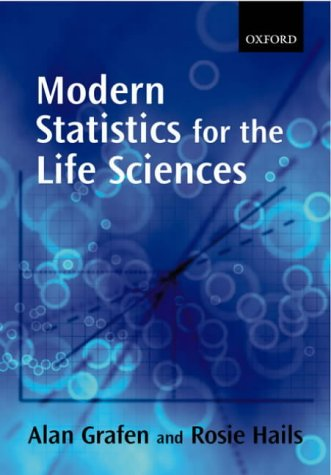 Modern Statistics for the Life Sciences   2002 edition cover