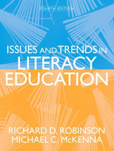 Issues and Trends in Literacy Education  4th 2008 edition cover